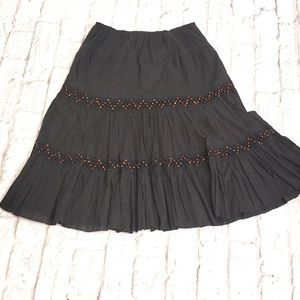 Grace elements Black Full skirt Hippie Boho
